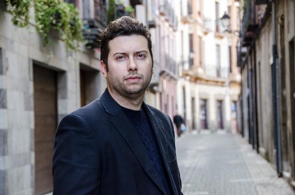 El escritor leonés Julio César Álvarez. © Fotografía: Hugo Alonso.