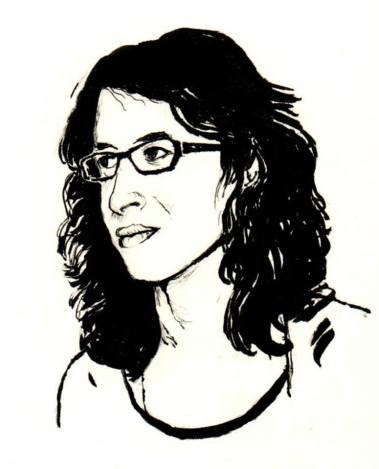 Laura Fraile, retratada por el ilustrador Joaquín Aragón.