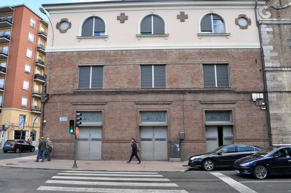 Imagen de la fachada exterior. © Fotografía: E. López.