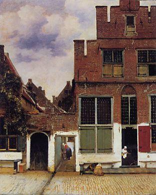 "© Johannes Vermeer. ""El callejón"" (1658). Rijkmuseum Amsterdam."