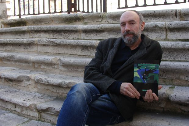 Eduardo Fraile, autor de `In memoriam´. © Foto: L. Fraile.