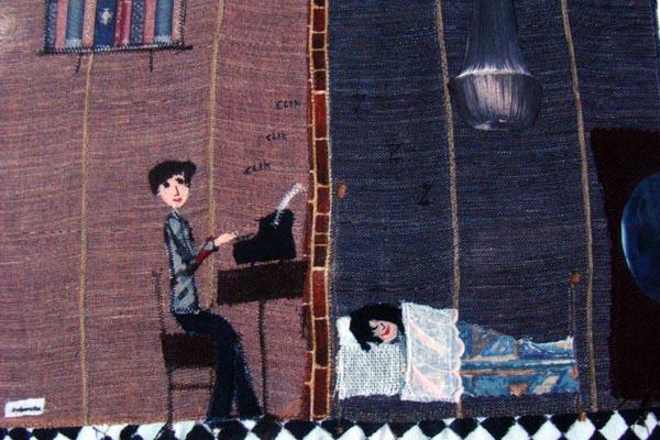 Una de las ilustraciones realizadas por África Bayón (Bulgarcita Pingos) para el libro.