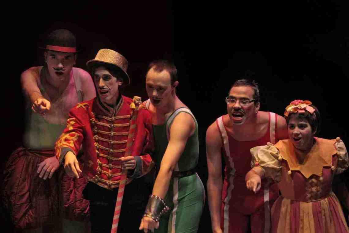Imagen de uno de los espectáculos de la compañía de teatro Paladio. Foto: Laura Cantero.