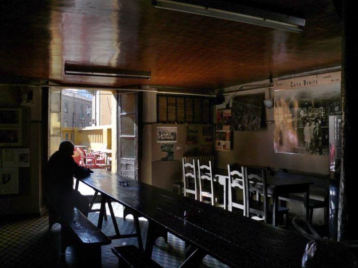 Interior del Benito, en la Plaza Mayor de León. © Fotografía: Agustín Berrueta.