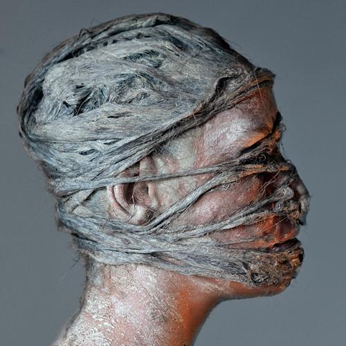 """Una de las obras de la serie """"Desde el silencio"""", de Nacho Ramírez."""