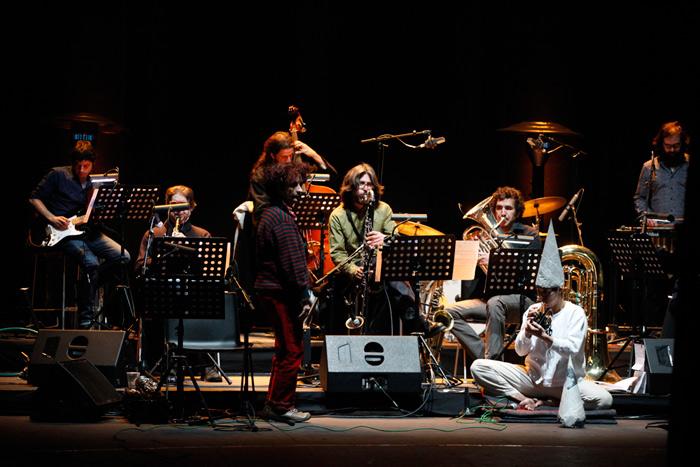 Una imagen de la Orquesta Carníval, conducida por Chefa Alonso.