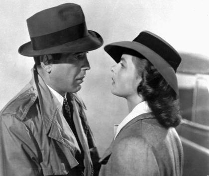 La despedida de Bergman y Bogart