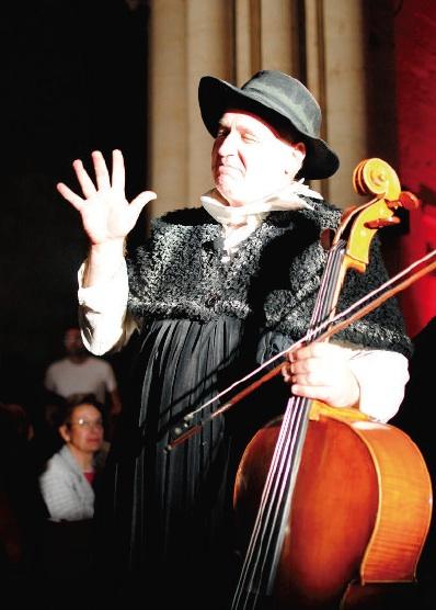 Arturo Muruzábal, en un momento del espectáculo.