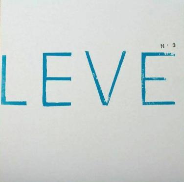 Portada de la tercera entrega de LEVE, correspondiente a 2014.