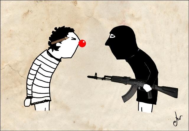 """Charlie Hebdo. Germán Ferrero """"Ger Ger"""""""
