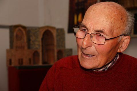 El ebanista Francisco González Ferreras. © Fotografía: RGM.