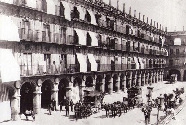 Diligencias en 1885.