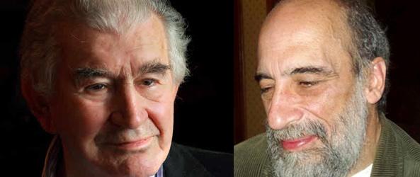 Antonio Gamoneda y Raúl Zurita.