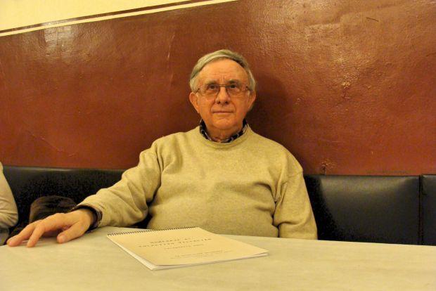 El psiquiatra José Manuel Susperregui fue uno de los miembros del colectivo Villacián. © Fotografía: L. Fraile.