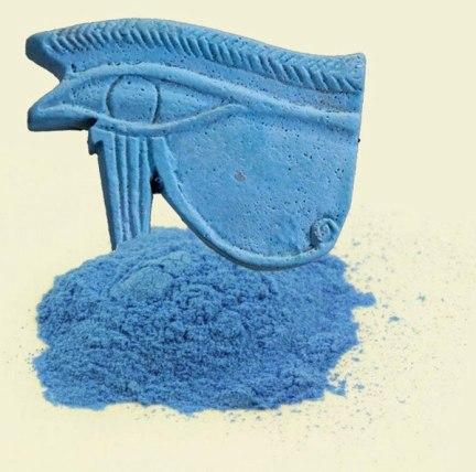 Azul egipcio. Udyat.