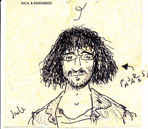 Caricatura de José Pajares Iglesias.