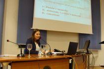 La periodista y social media Belén Kayser. © Fotografía: L. Fraile.