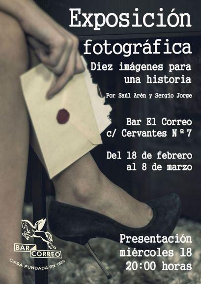 El cartel de la exposición 'Diez imágenes para una historia¡