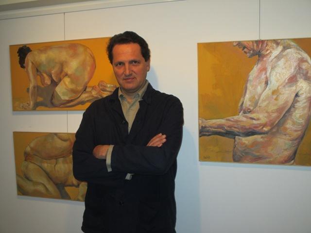 El artista Vicente Soto