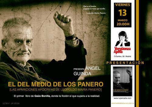 Tanto el cartel como la portada del libro han sido hechos sobre una fotografía de José Ramón VEGA.