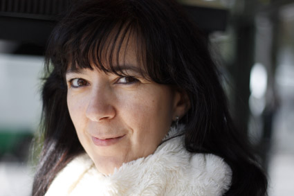 La poeta Esther Ramón.