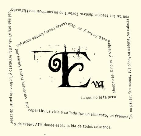 Una página del libro.