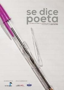 "Portada del libro ""Se dice poeta""."