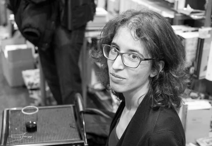 Laura Fraile. © Fotografía:  Jorge Lázaro.