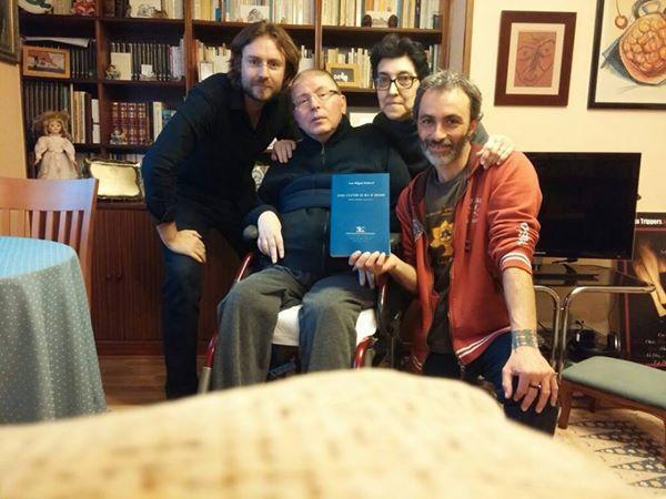De izquierda a derecha: Rafael Saravia, Luis Miguel Rabanal, MJ Romero y Alberto R. Torices.