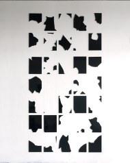 """Exposición """"Lo pictórico en la Colección MUSAC"""". Diego Movilla. Broken X, 2012. Plexiglás cortado a láser. Colección MUSAC. © Diego Movilla. Cortesía MUSAC."""