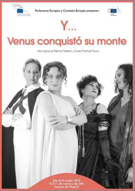 """Cartel """"Y...Venus conquistó su monte"""""""