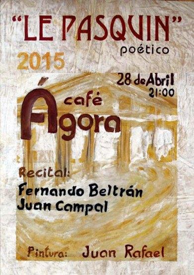 El cartel es obra de Juan Rafael.