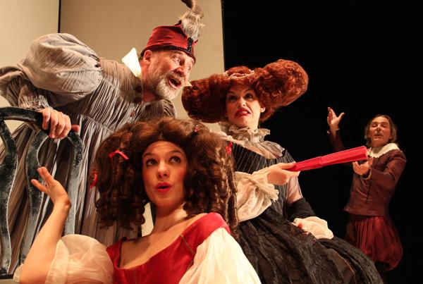 """Representación de """"Clásicos Cómicos"""", de Teatro Corsario. © Firma: Jesús Peña."""