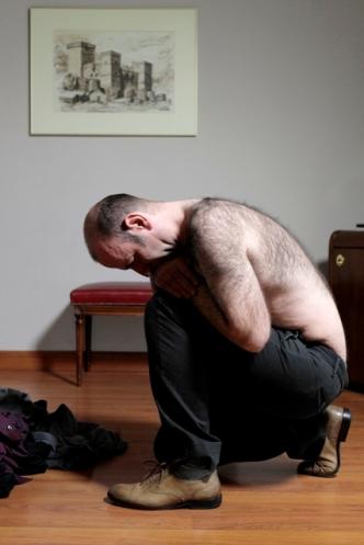 """""""Ponte el cuerpo"""". Javier Codesal. Fotografía: Cortesía Musac"""
