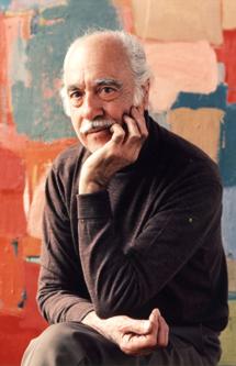 El pintor Esteban Vicente.