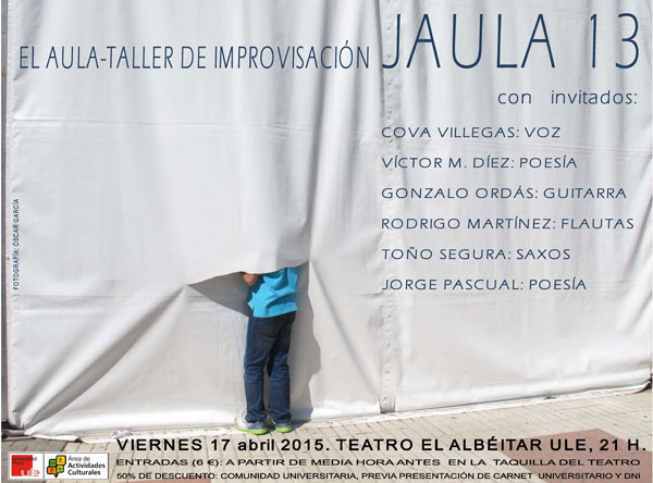 © La fotografía sobre la que se ha hecho el cartel es de Oscar García.