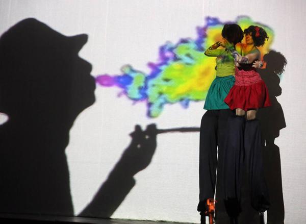 """Imagen del espectáculo """"Shock show"""". © Fotografía: Henar Sastre."""