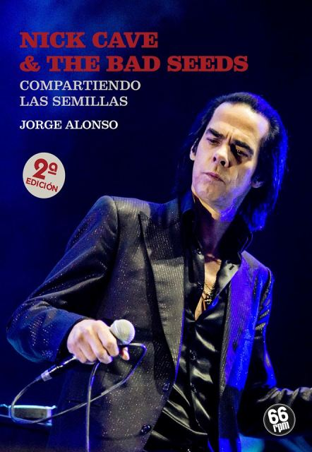 "Portada del libro  ""Nick Cave & The bad seeds"""