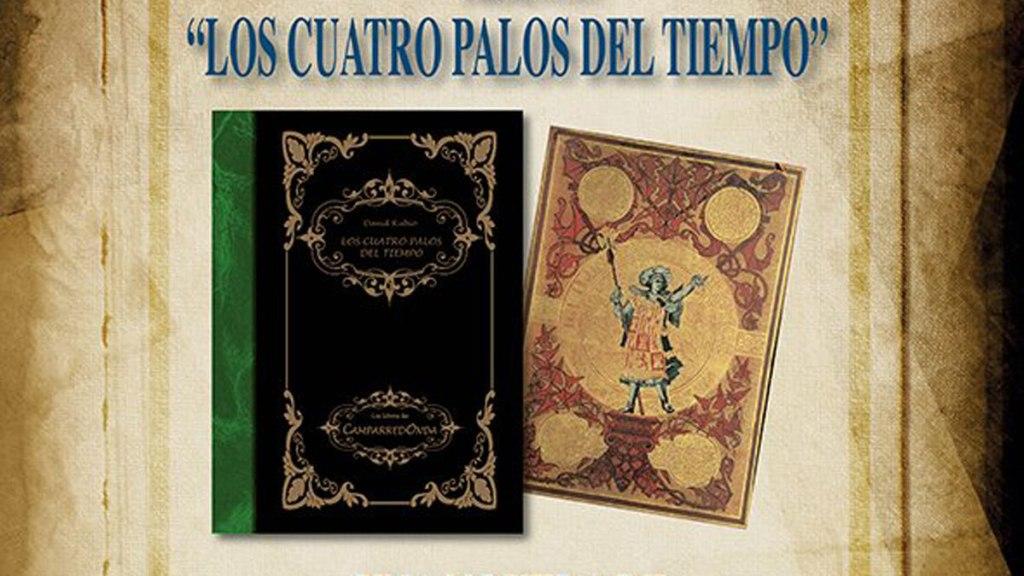 El libro de David Rubio 'Los cuatro palos del tiempo' ya se puede adquirir en las librerías leonesas.