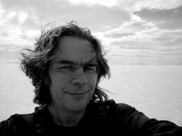 Gabriel Quindós, en un selfie.