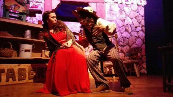 """Imagen de """"La zapatera prodigiosa"""" a cargo de la compañía Trébede Teatro."""