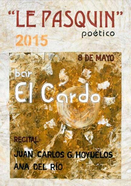 El cartel es obra del artista leonés Juan Rafael.