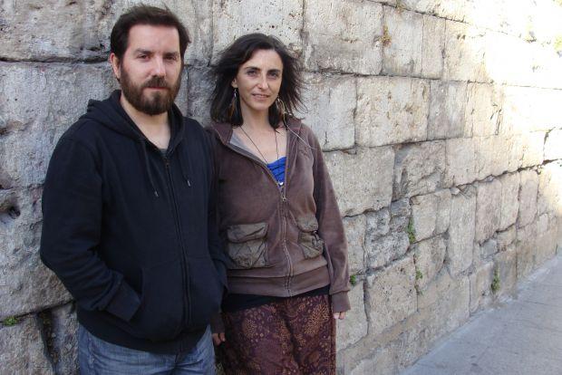 Jaime Rodríguez y Ruth Rivera, directores de la compañía Teatro Dran. Foto: Laura Fraile