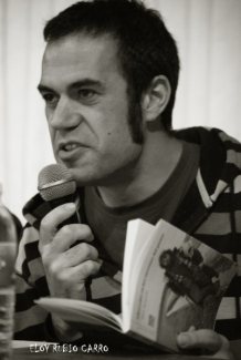 El poeta Abel Aparicio. © Eloy Rubio Carro.