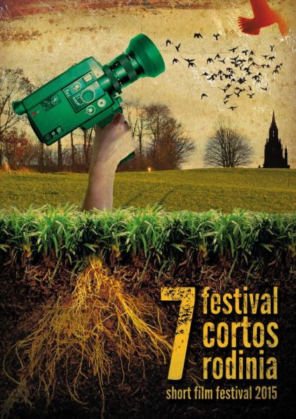 Cartel del 7º Festival de Cortos Rodinia.