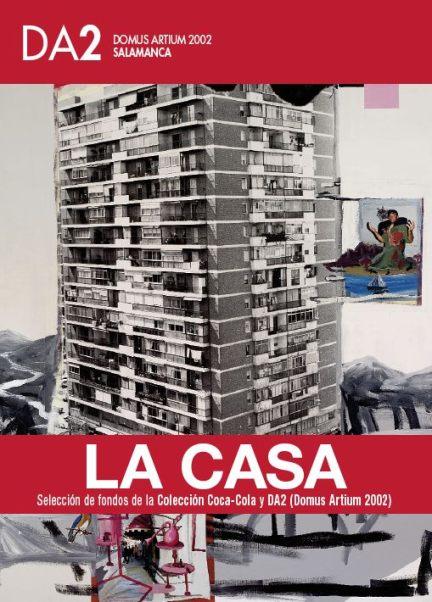 """El cartel de la muestra, sobre la obra de Juan Ugalde """"Amor en la ciudad"""" (1994)."""