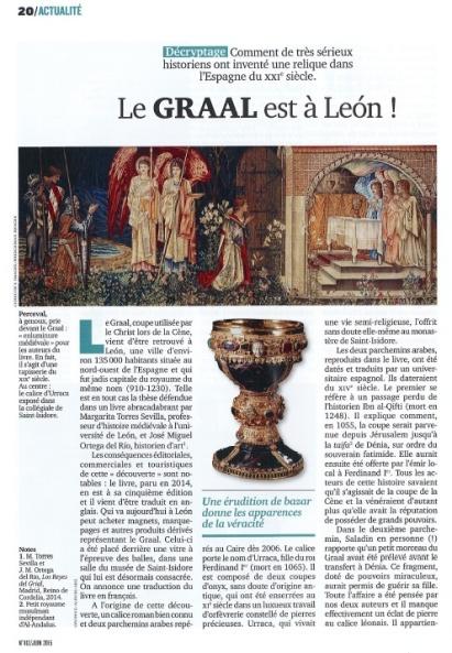 Primera página del articulo de Patrick Henriet publicado en la revista L'Histoire.