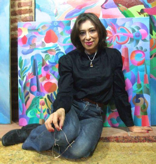 Alexandra Domínguez. (La foto está tomada de la página en Facebook de Juan Carlos Mestre).