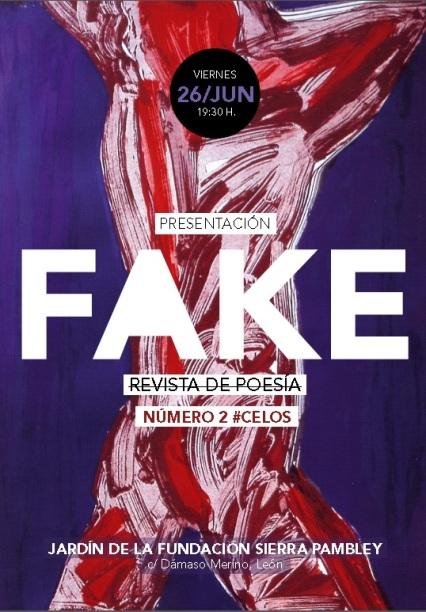 Cartel de la presentación de Fake 2.