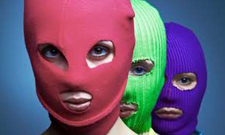 Colectivo ruso feminista Pussy Riot.
